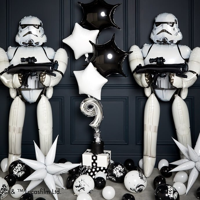 Life-size Stormtrooper balloons