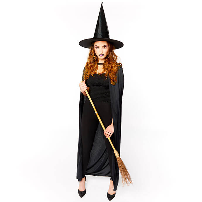 Cheap women's witch Halloween costume