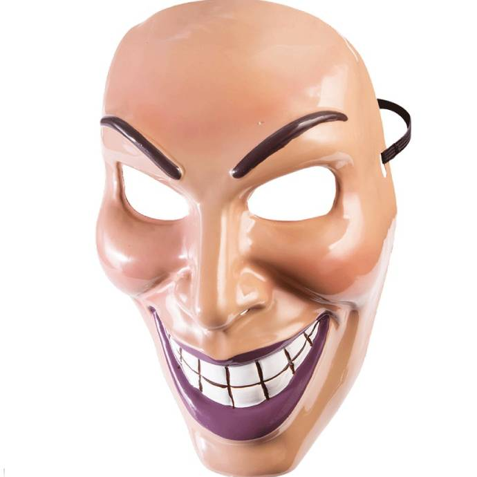 Male grin mask from the Purge