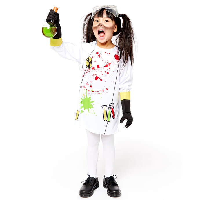 Zombie scientist costume