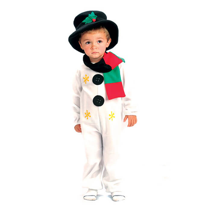Snowman Christmas fancy dress costume for toddlers