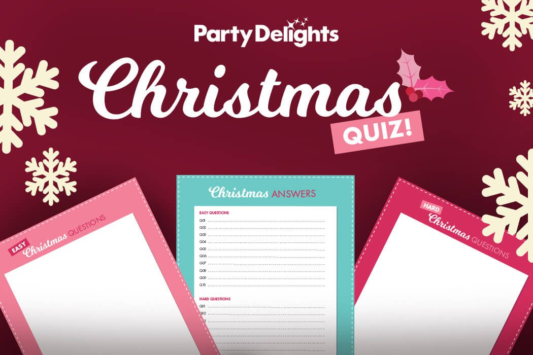 Party Delights free printable Christmas quiz