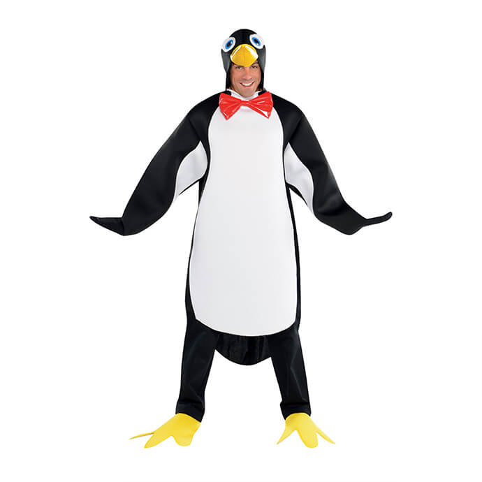 Penguin Christmas fancy dress costume