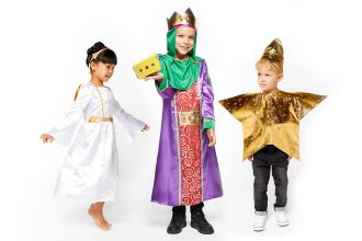 Children's nativity costumes - angel, wise man and star