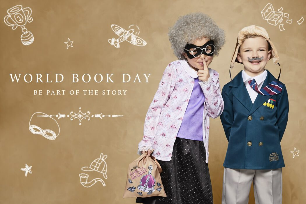 David Walliams World Book Day Costumes for kids