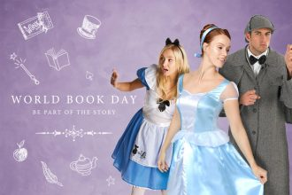 World Book Day costumes for grown-ups - Alice in Wonderland, Cinderella and Sherlock Holmes