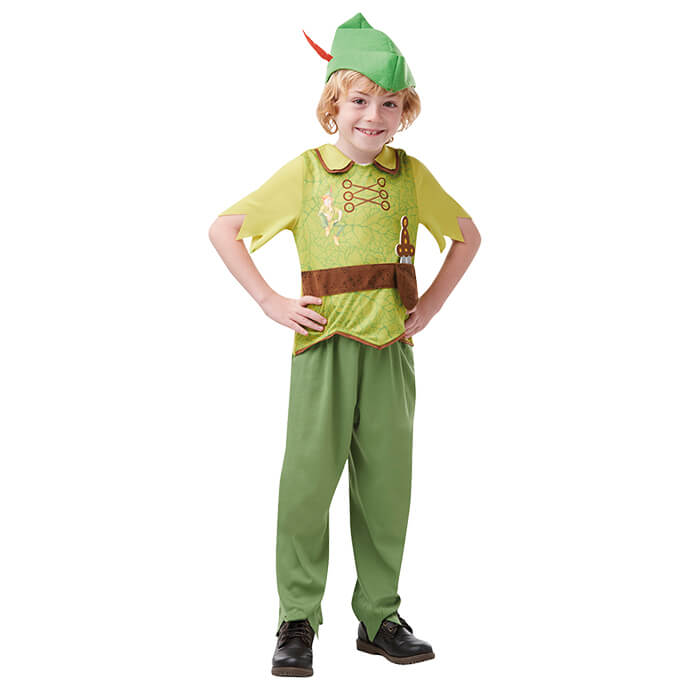 Peter Pan boys' costume for World Book Day