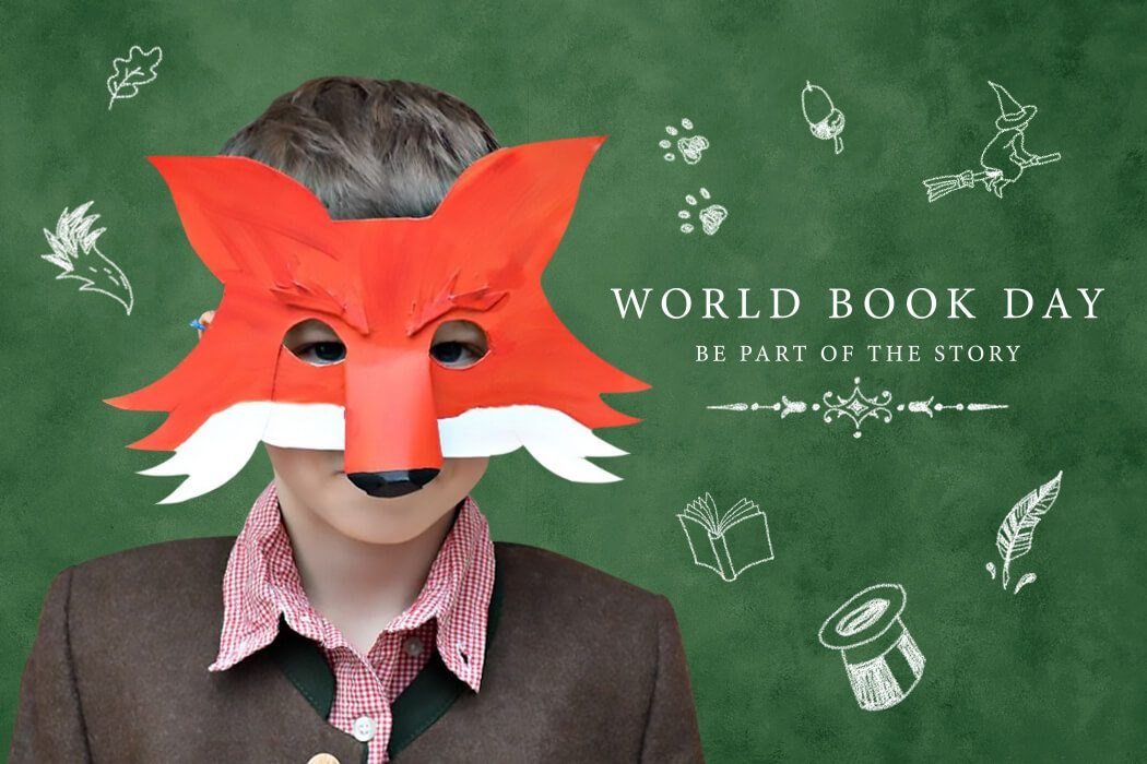 Fantastic Mr Fox mask - Last-minute World Book Day costume ideas